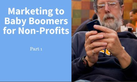 Marketing to Baby Boomers – Part 1