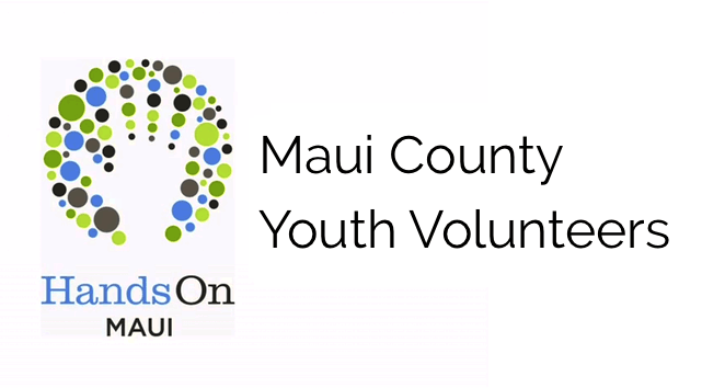HandsOn Maui Youth Volunteers