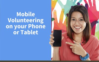 Mobile Volunteering from your Phone or Tablet