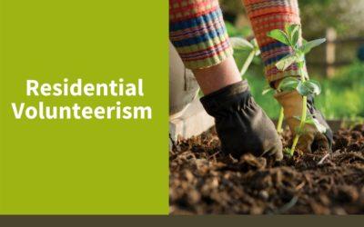 Residential Volunteerism