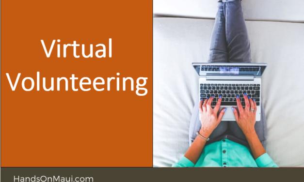 Virtual Volunteering
