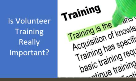 Is Volunteer Training Really Important?