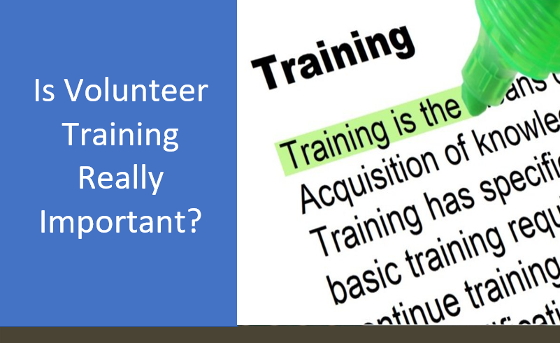 Is Volunteer Training Really Important?