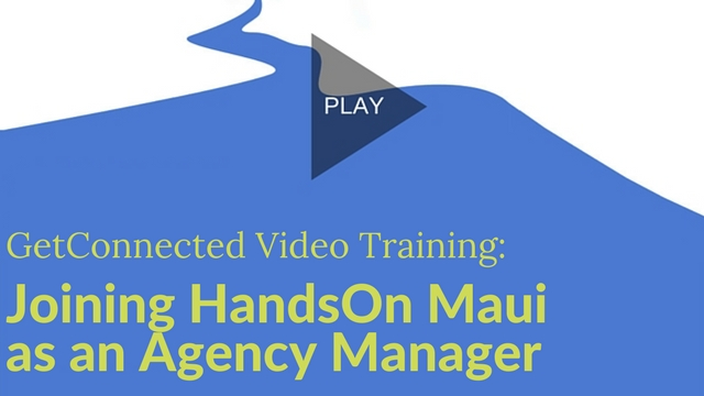 register your agency handson maui - Agency Manager