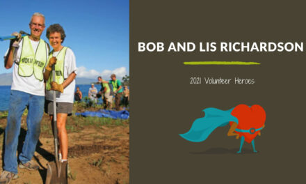 Bob and Lis Richardson — 2021 Volunteer Heroes