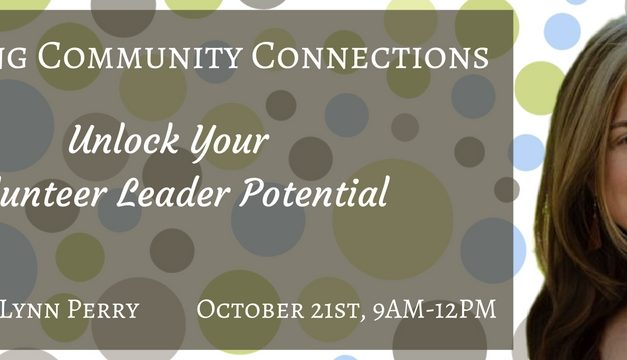 Building Community Connections – 10/21/16