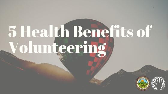 5 Health Benefits of Volunteering