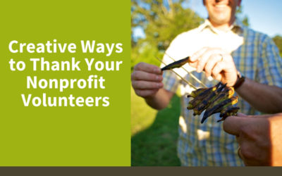 Creative Ways to Thank Your Nonprofit Volunteers