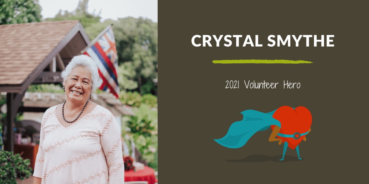 Crystal Smythe — 2021 Volunteer Hero