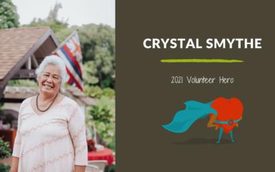 Crystal Smythe — 2021 Volunteer Hero