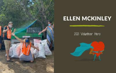 Ellen McKinley — 2021 Volunteer Hero