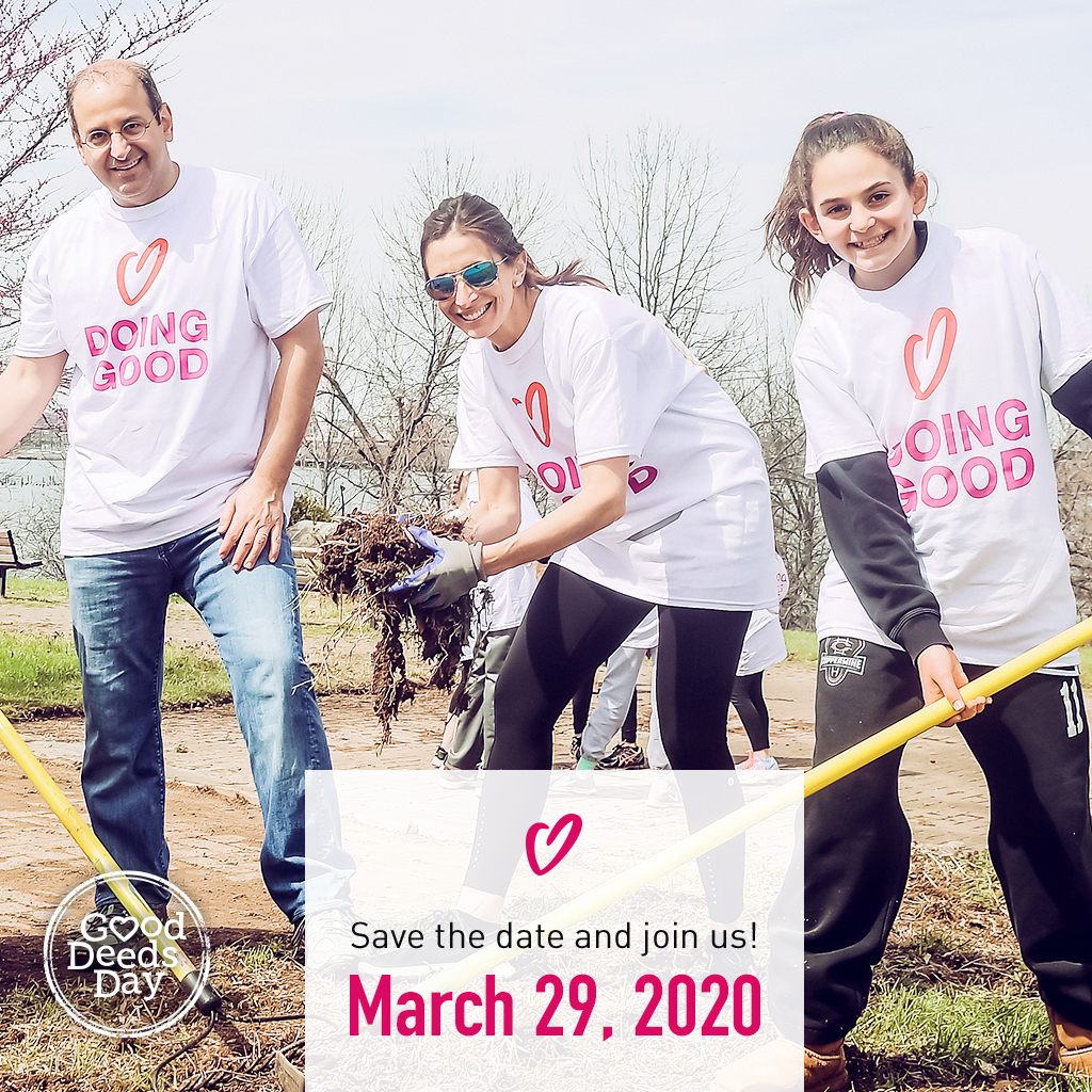 Good Deeds Day and Global Volunteer Month 2020