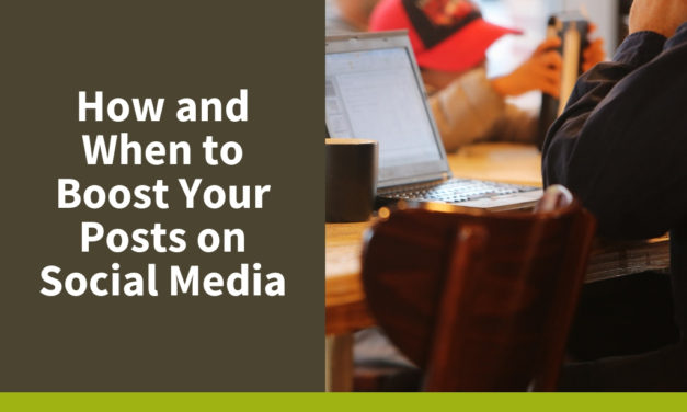 How and When to Boost your Nonprofit Posts on Social Media
