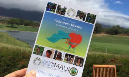 Celebrating our 2019 Maui Volunteer Heroes