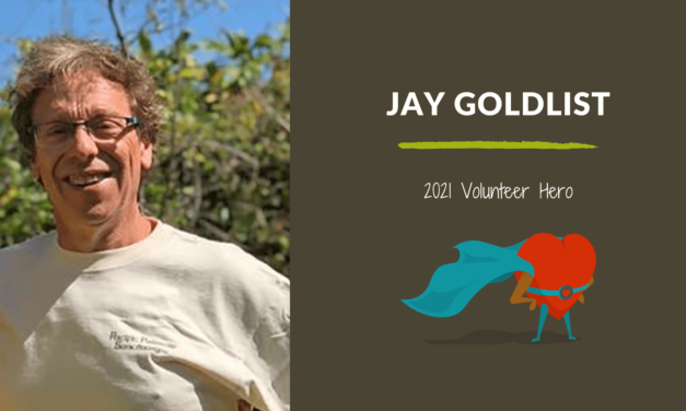 Jay Goldlist — 2021 Volunteer Hero