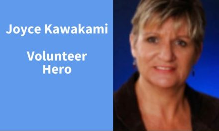 Joyce Kawakami, Volunteer Hero