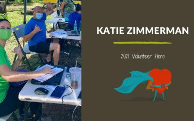 Katie Zimmerman — 2021 Volunteer Hero