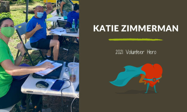 Katie Zimmerman — 2021 Volunteer Hero