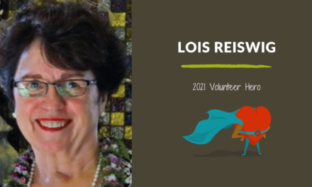 Lois Reiswig — 2021 Volunteer Hero