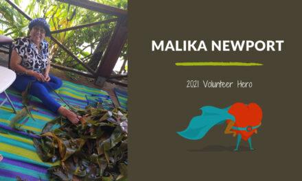 Malika Newport — 2021 Volunteer Hero