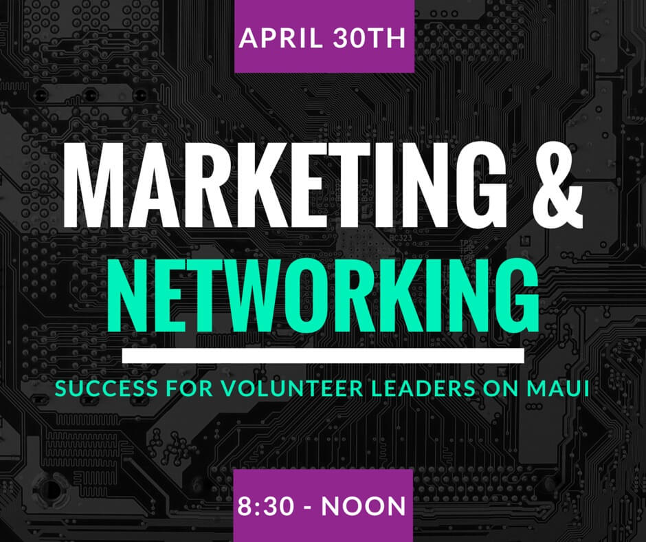 Marketing and Networking for Non-Profits