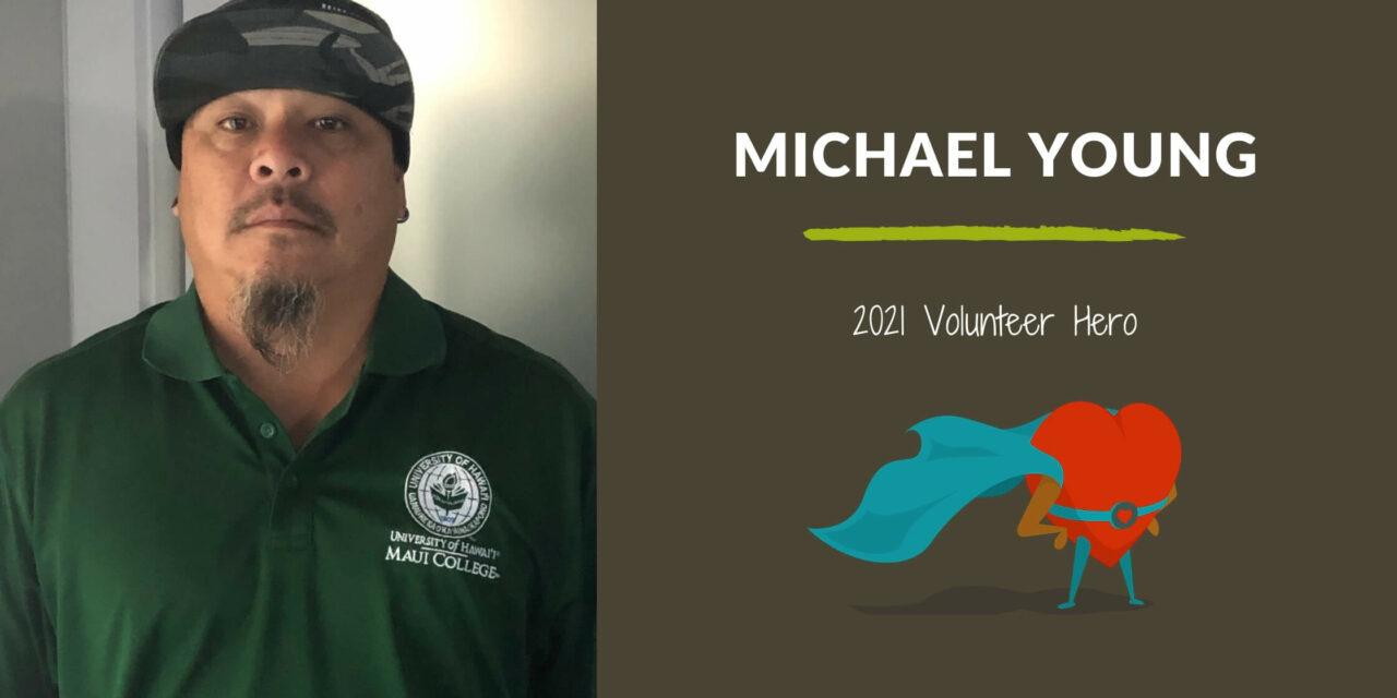 Michael Young — 2021 Volunteer Hero