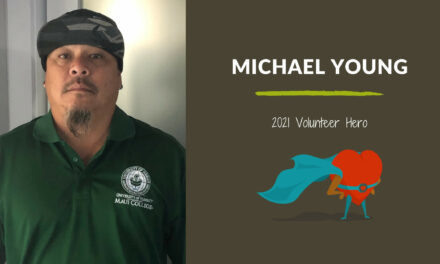 Michael Young — 2021 Volunteer Hero