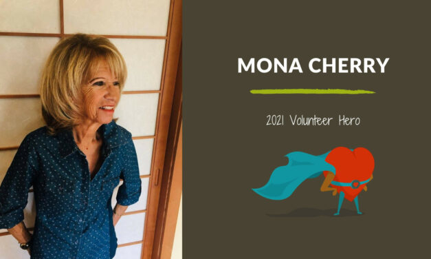 Mona Cherry — 2021 Volunteer Hero