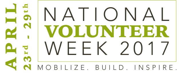 National Volunteer Week 2017