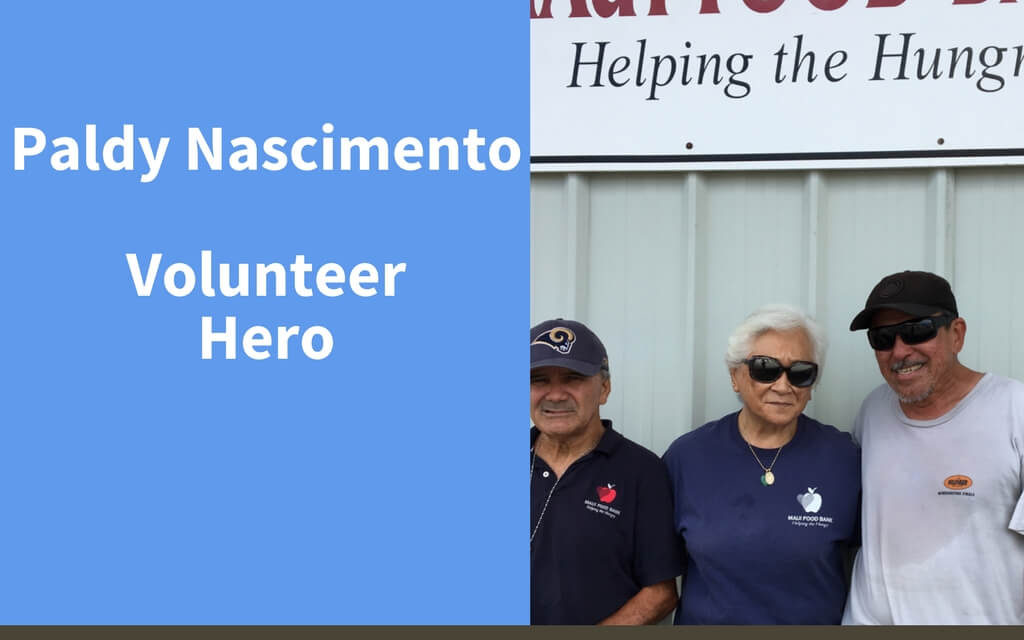 Paldy Nascimento, Volunteer Hero