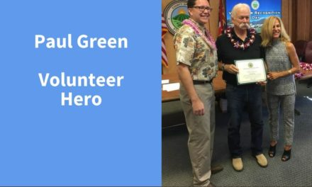 Paul Green, Volunteer Hero