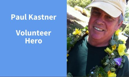 Paul Kastner, Volunteer Hero