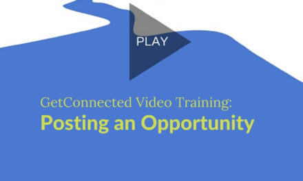 Posting an Opportunity