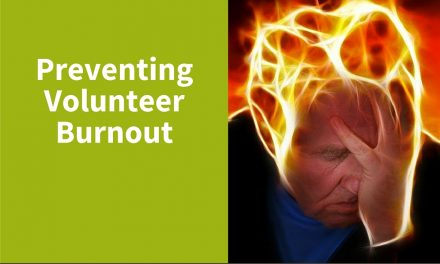 Prevent Burnout as a Volunteer