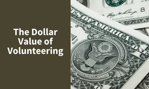 The Dollar Value of Volunteering