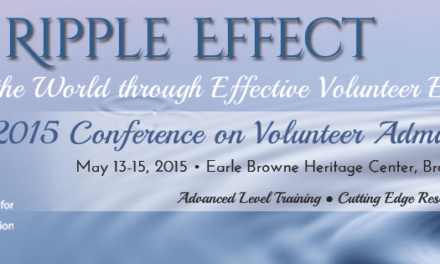 2015 Conference on Volunteer Administration