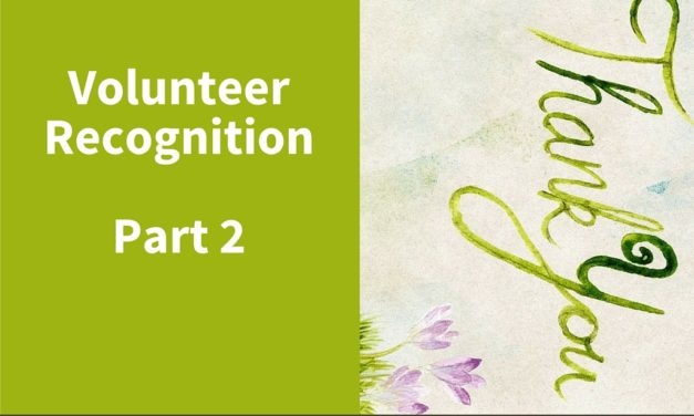Volunteer Recognition Part 2