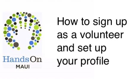 Volunteer Profile: How to Register & Edit